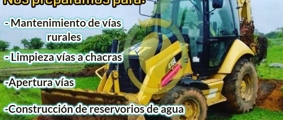 RESPONSABILIDAD NUESTRA EL MANTENIMIENTO DE LAS VÍAS RURALES