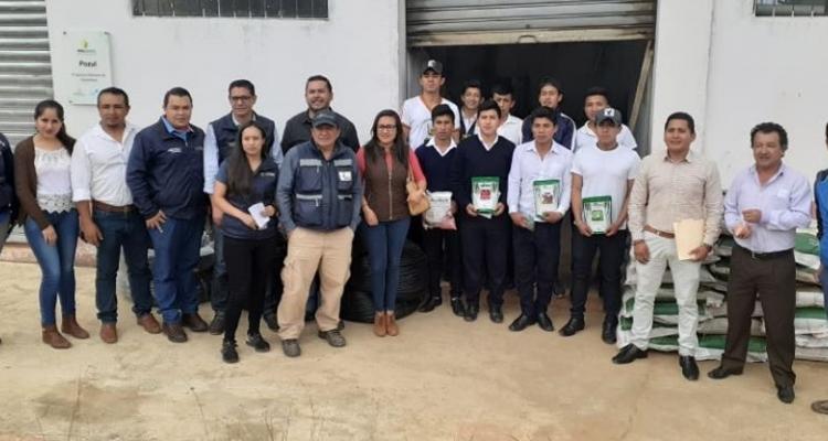 FIRMA DE CONVENIO DEL PROYECTO DE IMPLEMENTACION DE PRÁCTICAS DE MANEJO SOSTENIBLE DE LA TIERRA (MST)